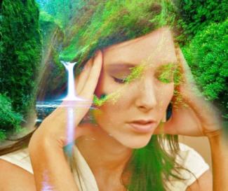 стресс йога