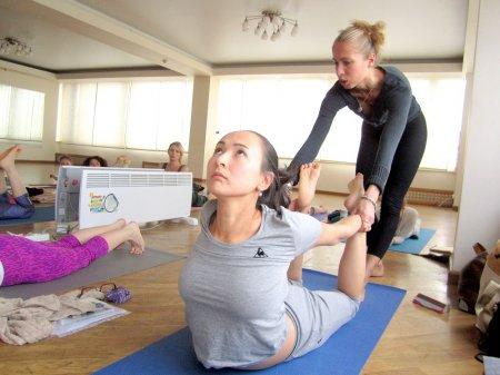 Курс изучения йоги с основами анатомии и физиологии
