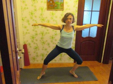 Биомеханика балансов в йоге