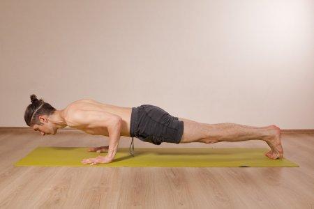 Физиология йоги: чатуранга дандасана