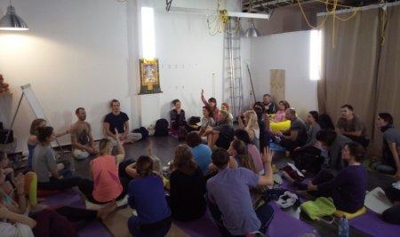 Состоялся первый фестиваль по психосоматике в йоге