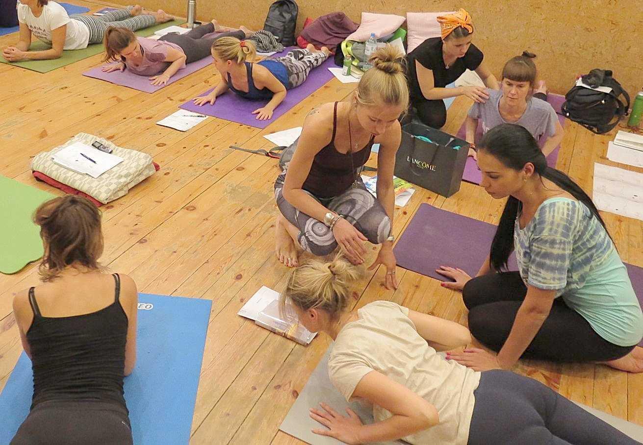 Курс подготовки профессиональных преподавателей йоги  (250/280 часов со специализацией)